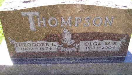 RISLOV THOMPSON, OLGA MYRTLE ELVIRA - Codington County, South Dakota | OLGA MYRTLE ELVIRA RISLOV THOMPSON - South Dakota Gravestone Photos