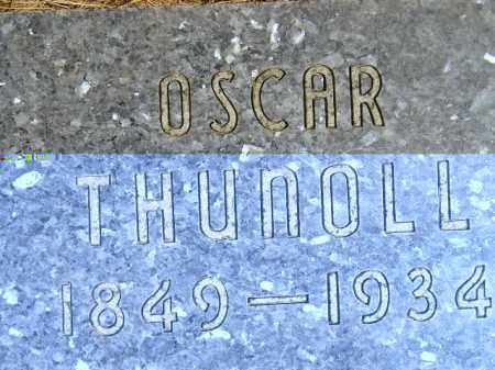 THUNOLL, OSCAR - Codington County, South Dakota | OSCAR THUNOLL - South Dakota Gravestone Photos