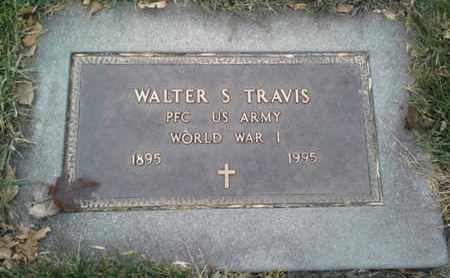 "TRAVIS, WALTER S ""MILITARY"" - Codington County, South Dakota | WALTER S ""MILITARY"" TRAVIS - South Dakota Gravestone Photos"