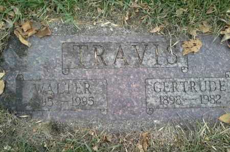 TRAVIS, WALTER - Codington County, South Dakota | WALTER TRAVIS - South Dakota Gravestone Photos