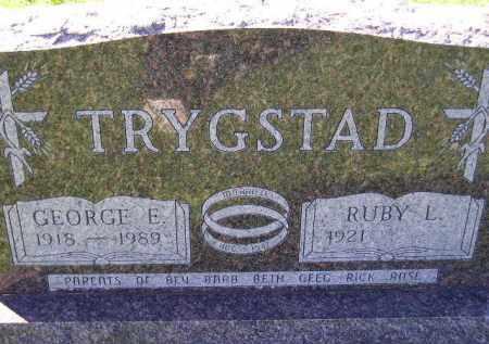 HAUGEN TRYGSTAD, RUBY L. - Codington County, South Dakota | RUBY L. HAUGEN TRYGSTAD - South Dakota Gravestone Photos