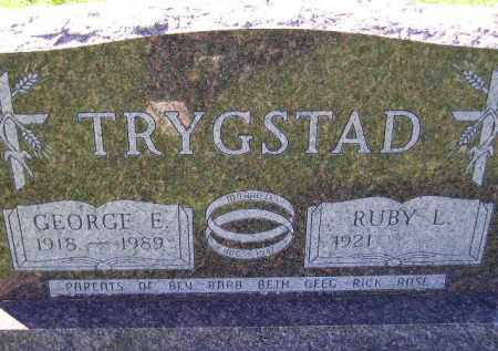 TRYGSTAD, RUBY L. - Codington County, South Dakota | RUBY L. TRYGSTAD - South Dakota Gravestone Photos