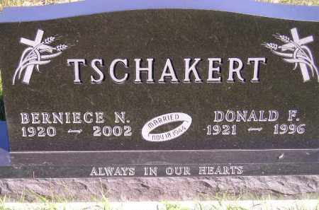 TSCHAKERT, BERNIECE NORA - Codington County, South Dakota | BERNIECE NORA TSCHAKERT - South Dakota Gravestone Photos