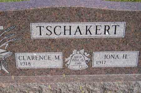 TSCHAKERT, IONA H. - Codington County, South Dakota | IONA H. TSCHAKERT - South Dakota Gravestone Photos