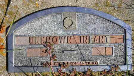 UNKNOWN INFANT, #2 - Codington County, South Dakota | #2 UNKNOWN INFANT - South Dakota Gravestone Photos