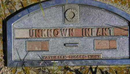 UNKNOWN INFANT, #3 - Codington County, South Dakota | #3 UNKNOWN INFANT - South Dakota Gravestone Photos