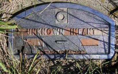 UNKNOWN INFANT, #5 - Codington County, South Dakota | #5 UNKNOWN INFANT - South Dakota Gravestone Photos