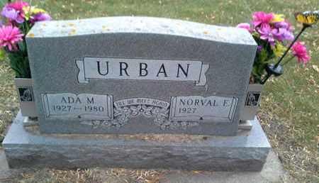URBAN, NORVAL E - Codington County, South Dakota | NORVAL E URBAN - South Dakota Gravestone Photos