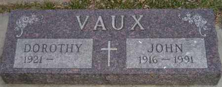VAUX, DOROTHY - Codington County, South Dakota | DOROTHY VAUX - South Dakota Gravestone Photos