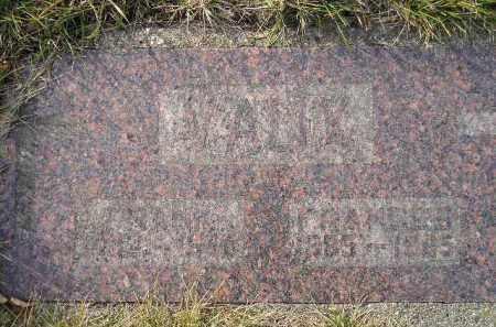 VAUX, FRANCES - Codington County, South Dakota   FRANCES VAUX - South Dakota Gravestone Photos