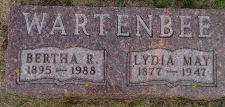 WARTENBEE, LYDIA MAY - Codington County, South Dakota | LYDIA MAY WARTENBEE - South Dakota Gravestone Photos