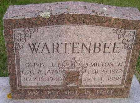 WARTENBEE, MILTON MANUEL - Codington County, South Dakota | MILTON MANUEL WARTENBEE - South Dakota Gravestone Photos