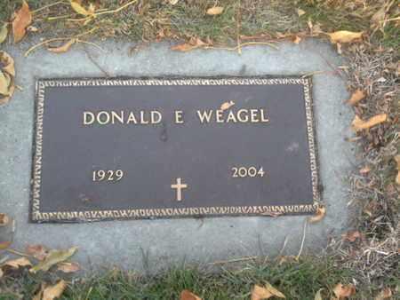 "WEAGEL ""MILITARY"", DONALD E - Codington County, South Dakota | DONALD E WEAGEL ""MILITARY"" - South Dakota Gravestone Photos"