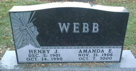 WEBB, AMANDA E - Codington County, South Dakota | AMANDA E WEBB - South Dakota Gravestone Photos