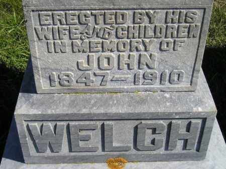 WELCH, JOHN - Codington County, South Dakota | JOHN WELCH - South Dakota Gravestone Photos
