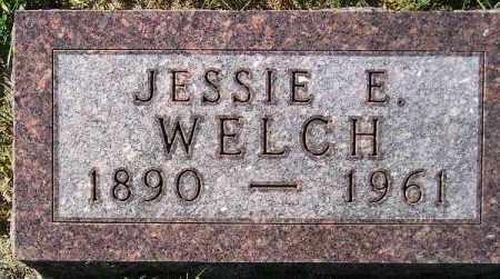 BURNSTAD WELCH, JESSIE EDITH - Codington County, South Dakota | JESSIE EDITH BURNSTAD WELCH - South Dakota Gravestone Photos