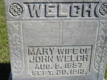 HABENGER WELCH, MARY - Codington County, South Dakota | MARY HABENGER WELCH - South Dakota Gravestone Photos