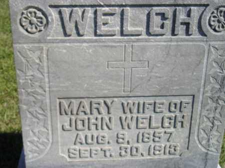 WELCH, MARY - Codington County, South Dakota | MARY WELCH - South Dakota Gravestone Photos