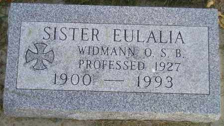 WIDMANN, VERENA - Codington County, South Dakota | VERENA WIDMANN - South Dakota Gravestone Photos