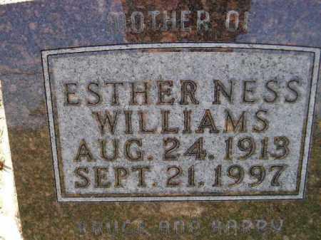 NESS WILLIAMS, ESTHER - Codington County, South Dakota | ESTHER NESS WILLIAMS - South Dakota Gravestone Photos