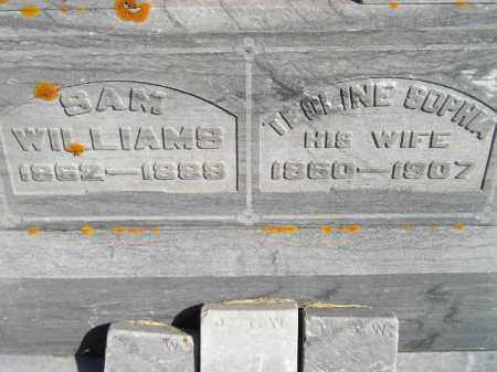 WILLIAMS, SAM - Codington County, South Dakota | SAM WILLIAMS - South Dakota Gravestone Photos
