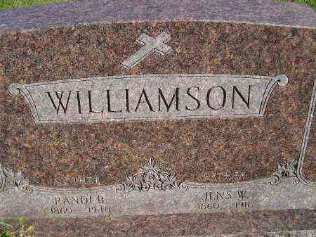 WILLIAMSON, JENS W. - Codington County, South Dakota | JENS W. WILLIAMSON - South Dakota Gravestone Photos