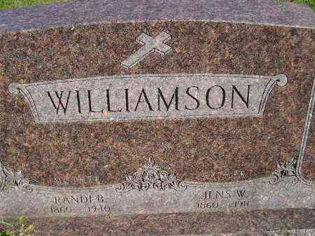 WILLIAMSON, JENS W. - Codington County, South Dakota | JENS W. WILLIAMSON - South Dakota Gravestone Photos