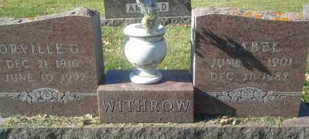 WITHROW, MABEL - Codington County, South Dakota | MABEL WITHROW - South Dakota Gravestone Photos