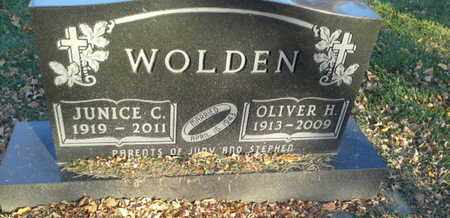 WOLDEN, OLIVER H - Codington County, South Dakota | OLIVER H WOLDEN - South Dakota Gravestone Photos