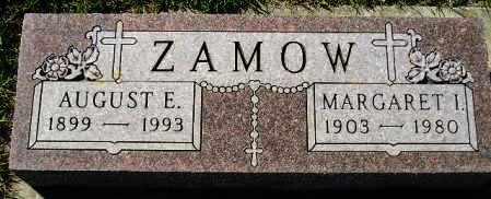 ZAMOW, AUGUST E. - Codington County, South Dakota | AUGUST E. ZAMOW - South Dakota Gravestone Photos