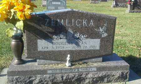 ZEMLICKA, DOUGLAS DEAN - Codington County, South Dakota | DOUGLAS DEAN ZEMLICKA - South Dakota Gravestone Photos