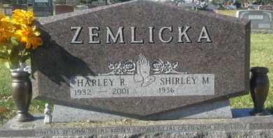 ZEMLICKA, HARLEY - Codington County, South Dakota | HARLEY ZEMLICKA - South Dakota Gravestone Photos