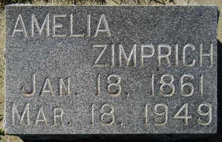 BROOKMAN ZIMPRICH, AMELIA - Codington County, South Dakota | AMELIA BROOKMAN ZIMPRICH - South Dakota Gravestone Photos