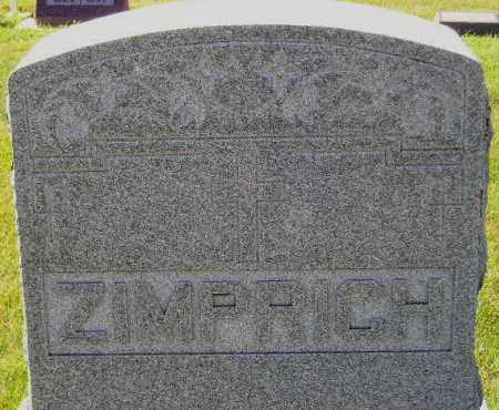 ZIMPRICH, FAMILY STONE - Codington County, South Dakota | FAMILY STONE ZIMPRICH - South Dakota Gravestone Photos