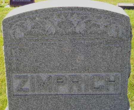 ZIMPRICH, FAMILY STONE - Codington County, South Dakota | FAMILY STONE ZIMPRICH - South Dakota Gravestone Photos