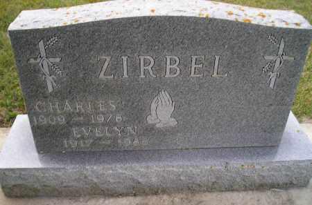 EBENS ZIRBEL, EVELYN - Codington County, South Dakota | EVELYN EBENS ZIRBEL - South Dakota Gravestone Photos