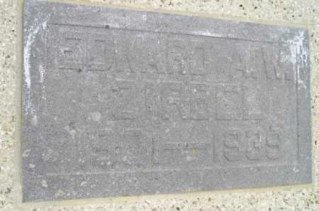 ZIRBEL, EDWARD A.W. - Codington County, South Dakota | EDWARD A.W. ZIRBEL - South Dakota Gravestone Photos