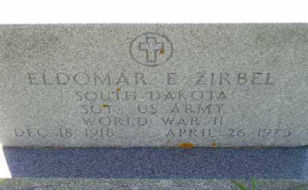 ZIRBEL, ELDOMAR E. - Codington County, South Dakota | ELDOMAR E. ZIRBEL - South Dakota Gravestone Photos