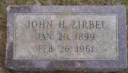 ZIRBEL, JOHN HERMAN - Codington County, South Dakota | JOHN HERMAN ZIRBEL - South Dakota Gravestone Photos