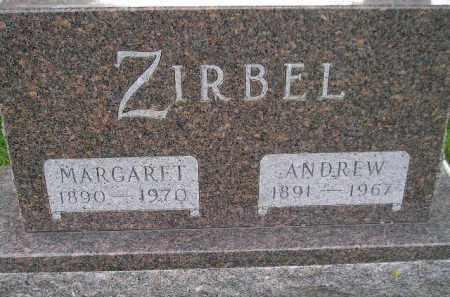 SELCHERT ZIRBEL, MARGARET - Codington County, South Dakota | MARGARET SELCHERT ZIRBEL - South Dakota Gravestone Photos