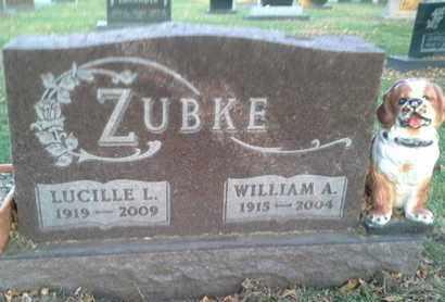 ZUBKE, WILLIAM A - Codington County, South Dakota | WILLIAM A ZUBKE - South Dakota Gravestone Photos