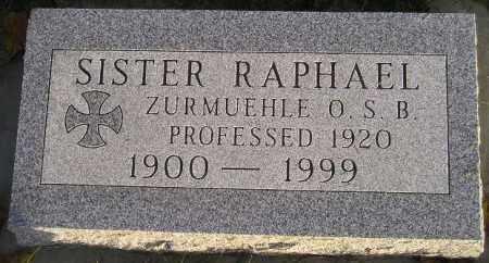 ZURMUEHLE, JOSEPHINE - Codington County, South Dakota | JOSEPHINE ZURMUEHLE - South Dakota Gravestone Photos