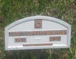 TANKER BARBER, DESSIE - Custer County, South Dakota | DESSIE TANKER BARBER - South Dakota Gravestone Photos