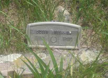 BRESHMAN, DOLLY - Custer County, South Dakota | DOLLY BRESHMAN - South Dakota Gravestone Photos