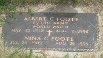FOOTE, ALBERT  C. - Custer County, South Dakota | ALBERT  C. FOOTE - South Dakota Gravestone Photos