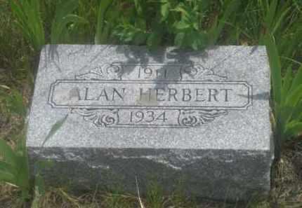 HERBERT, ALAN - Custer County, South Dakota | ALAN HERBERT - South Dakota Gravestone Photos