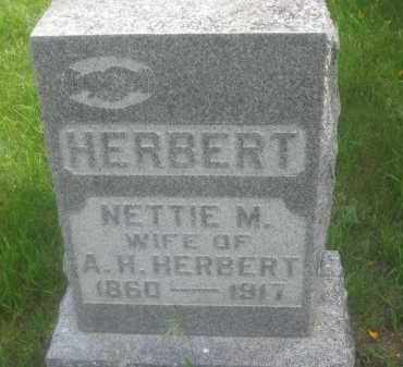 HERBERT, NETTIE  M. - Custer County, South Dakota | NETTIE  M. HERBERT - South Dakota Gravestone Photos