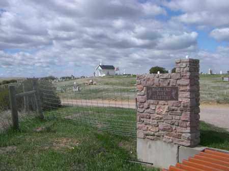 *HIGHLAND PARK CEMETERY, ENTRANCE VIEW - Custer County, South Dakota | ENTRANCE VIEW *HIGHLAND PARK CEMETERY - South Dakota Gravestone Photos