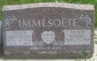 KENNEDY IMMESOETE, STELLA - Custer County, South Dakota | STELLA KENNEDY IMMESOETE - South Dakota Gravestone Photos