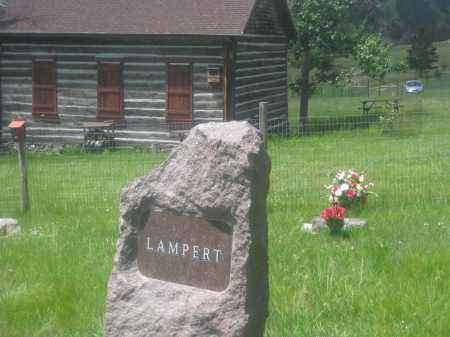 LAMPERT, FAMILY STONE - Custer County, South Dakota | FAMILY STONE LAMPERT - South Dakota Gravestone Photos